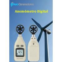 Anemómetro Digital